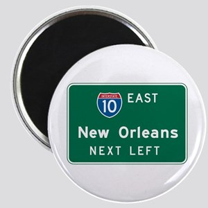 New Orleans, LA Highway Sign Magnet