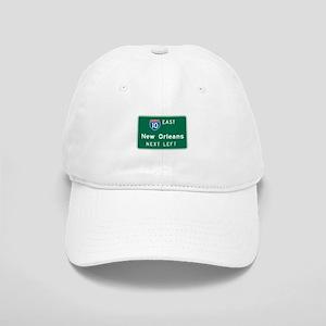 New Orleans, LA Highway Sign Cap