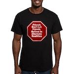 Alternate Realities Men's Fitted T-Shirt (dark)