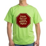 Bigfoot Green T-Shirt