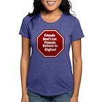 Bigfoot Womens Tri-blend T-Shirt