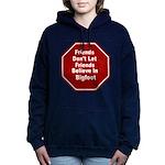 Bigfoot Women's Hooded Sweatshirt