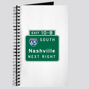 Nashville, TN Highway Sign Journal