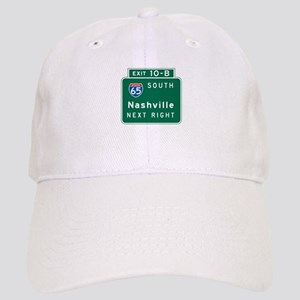 Nashville, TN Highway Sign Cap