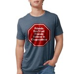 Chupacabras Mens Tri-blend T-Shirt