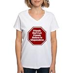 Chupacabras Women's V-Neck T-Shirt