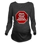 Chupacabras Long Sleeve Maternity T-Shirt