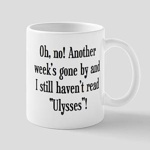 read ulysses 11 oz Ceramic Mug