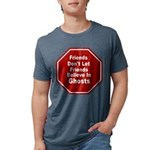 Ghosts Mens Tri-blend T-Shirt