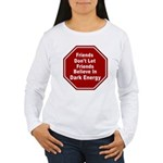 Dark Energy Women's Long Sleeve T-Shirt