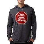 Dark Energy Mens Hooded Shirt