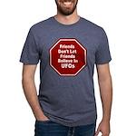 UFOs Mens Tri-blend T-Shirt