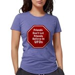 UFOs Womens Tri-blend T-Shirt