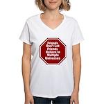 Multiple Universes Women's V-Neck T-Shirt