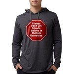 Multiple Universes Mens Hooded Shirt
