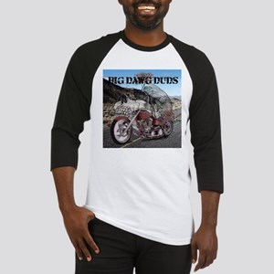 Big Dawg Duds Biker Day Dreamin Baseball Jersey