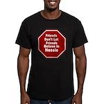 Nessie Men's Fitted T-Shirt (dark)