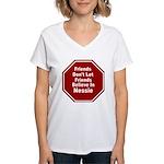 Nessie Women's V-Neck T-Shirt