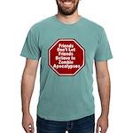 Zombie Apocalypses Mens Comfort Colors® Shirt