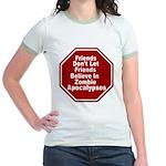 Zombie Apocalypses Jr. Ringer T-Shirt