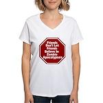 Zombie Apocalypses Women's V-Neck T-Shirt