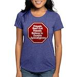 Zombie Apocalypses Womens Tri-blend T-Shirt