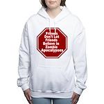 Zombie Apocalypses Women's Hooded Sweatshirt
