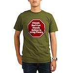 String Theory Organic Men's T-Shirt (dark)