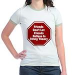 String Theory Jr. Ringer T-Shirt