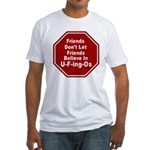 U-F-ing-Os Fitted T-Shirt