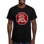 U-F-ing-Os Men's Fitted T-Shirt (dark)