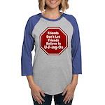 U-F-ing-Os Womens Baseball Tee