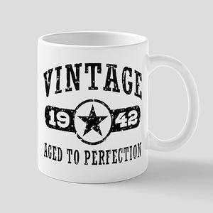 Vintage 1942 11 oz Ceramic Mug