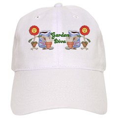 Garden Diva Baseball Cap