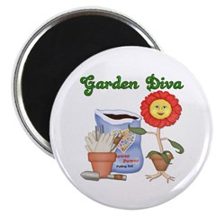 Garden Diva Magnet