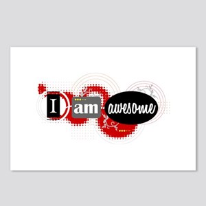 I Am Awesome Postcards (Package of 8)