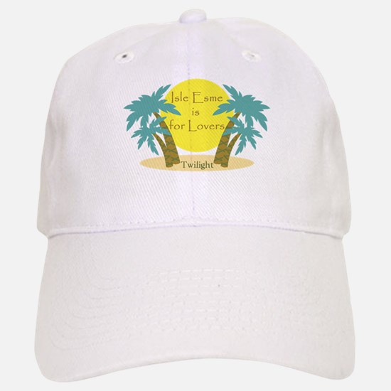 Isle Esme is for Lovers Baseball Baseball Cap