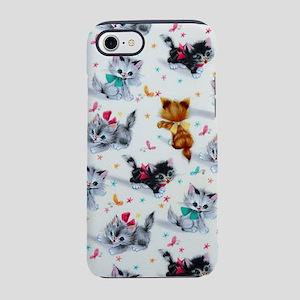 Cute Kittens iPhone 8/7 Tough Case
