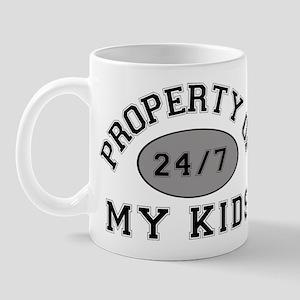 Property of My Kids Mug
