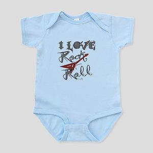 I Love Rock-n-Roll Infant Bodysuit
