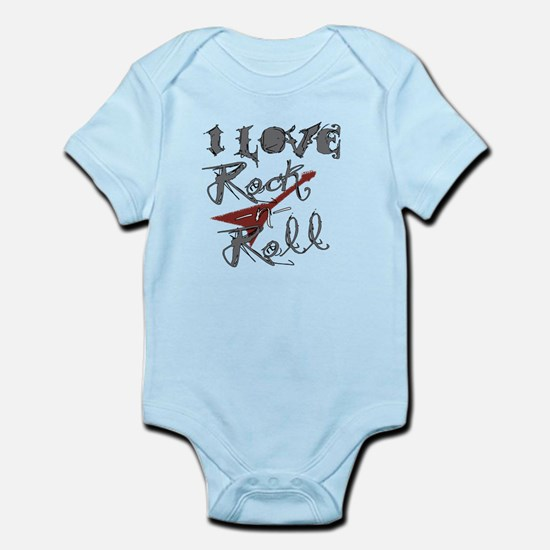I Love Rock-n-Roll Infant Bodysuit