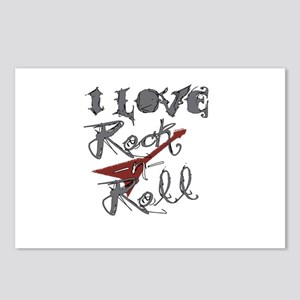 I Love Rock-n-Roll Postcards (Package of 8)