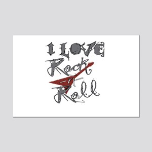 I Love Rock-n-Roll Mini Poster Print