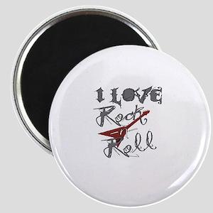 I Love Rock-n-Roll Magnet