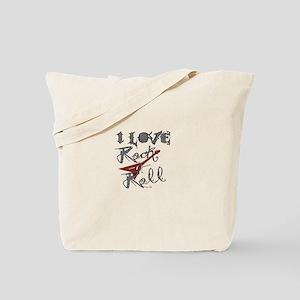 I Love Rock-n-Roll Tote Bag