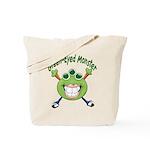 Green Eyed Monster Tote Bag