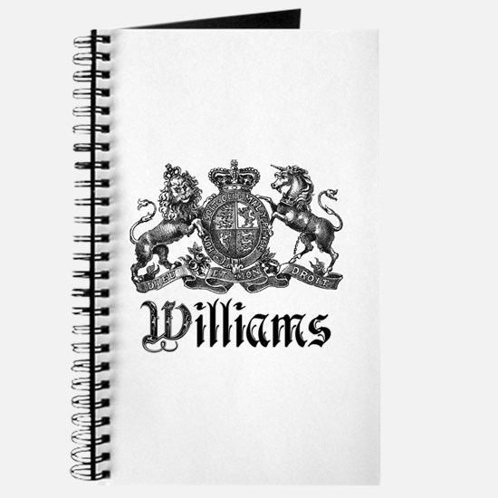 Williams Vintage Crest Family Name Journal