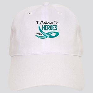 I Believe In Heroes CERVICAL CANCER Cap