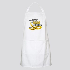 Time To Believe CHILDHOOD CANCER BBQ Apron