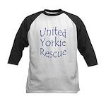 United Yorkie Rescue Kids Baseball Jersey